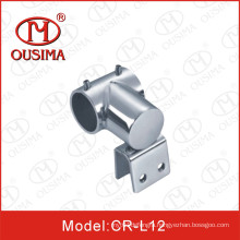 Ss304 Glass Shower Room Pipe Connector/ Tube to Pipe Fitting