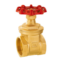 J1011 pn16 Válvula de compuerta de latón Válvula SGS / Válvula de retención de agua ISO 228/1