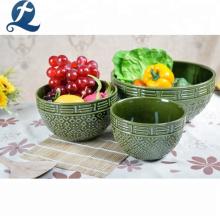 Personnalisé pas cher table à manger en céramique dîner maison ensembles vaisselle