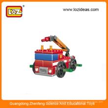 LOZ pädagogischen Feuerwehr-Baustein Spielzeug