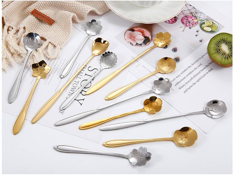 Flower Shape Spoon