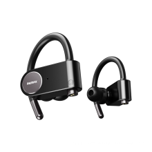 Remax Earbuds Carrying Case Headphone Bluetooth 5.0 Ear Hook Surround Sound Comfortable Headphones Wireless Sports Earphone