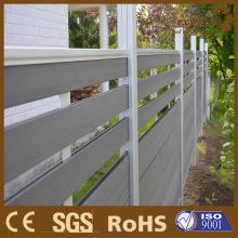 WPC алюминия деревянный забор / ламинат древесины сад заборные решетки