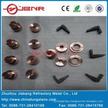 Tungsten Copper Contact W70cu30 with ISO9001 From Zhuzhou Jiabang