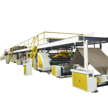 China factory 3 ply corrugated paperboard production line machine