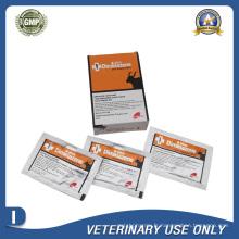 Médicament vétérinaire de poudre injectable Diminazene (2.36g / Sachet)