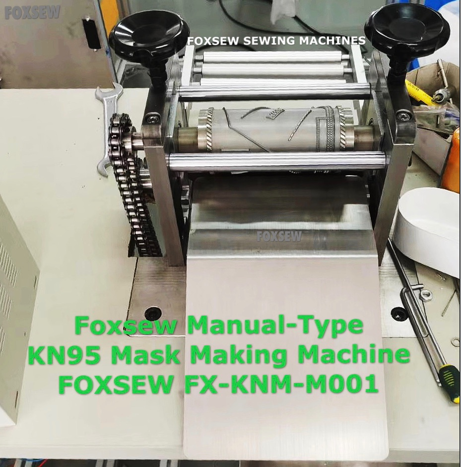 Manual Type Kn95 Mask Making Machines 1