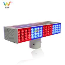 Señal de tráfico de seguridad vial LED luz intermitente solar