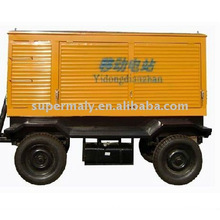 CE approved 500kw trailer generating set