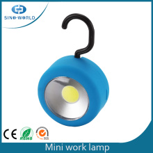 3W COB Hook Mini Led Luz de trabajo