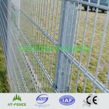 Сварной стальной забор с двойной проволокой