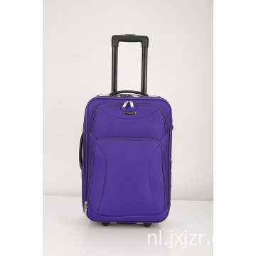 Spinner paarse koffer bagage