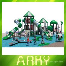 2015 green nature children outdoor playground equipment