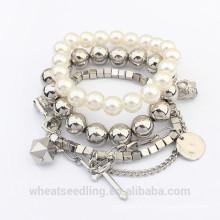 Bracelet en perles de perles multicouches 2015 Fashion For Women