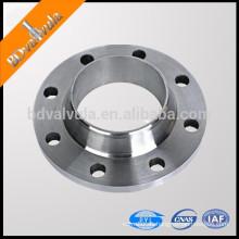 12821-80 brida de tubo de fundición de acero fundido a105 brida