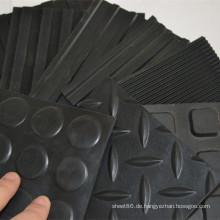 Fabrikpreis-Antibeleg-Gummiblatt-Boden-Matte