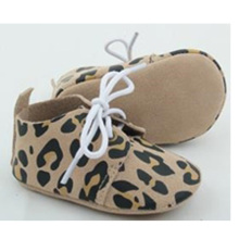 Großhandel neugeborenes Baby echtes Leder beiläufige Krippe oxford Schuhe