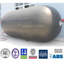 Certificado ISO y defensas pneuamáticas inflables seguras