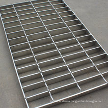 Bar Grating Made of Stainless Steel Destined to The Drainage of Surface Waters.