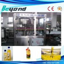 Machine de remplissage linéaire d'huile certifiée CE