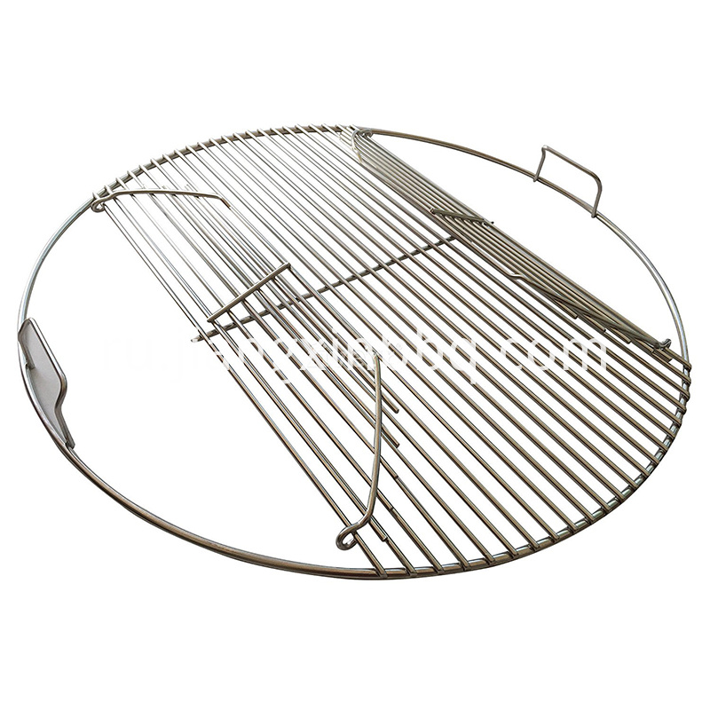 Stainless Steel Replacement Grill Hinged With Handles 57 Cm