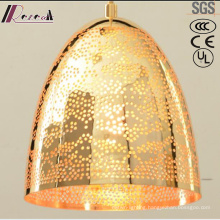 New Design Gold Hollow Round Individuality Pendant Lighting with Restaurant