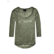 Женская футболка 3/4 Sleeve T-Shirt