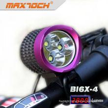 Maxtoch BI6X-4 3*CREE XML T6 Purple Mountain Bicycle Lights