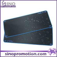 Anti-Rutsch-Gummibasis Großes wasserdichtes Mousepad (blauer Rand)