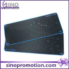 Não-Deslizamento Base de borracha Grande Mousepad impermeável (borda azul)