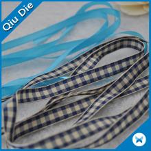 Plaid Printed Grosgrain Ribbon Cheerleading Ribbon