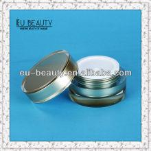 100g Zylinder Acryl Creme Jar für kosmetische Verpackung