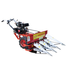 Hand-held 73 diesel wheat rice small and medium-sized household mountain harvester mini rice paddy cutting machine
