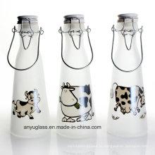 Стеклянные бутылочки для молока с крышкой Swing Top для Beverqage