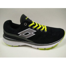 Italy Brand Shoes Black Gym Footwear for Ladies