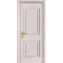 White Oak Raised Molding Interior Craftsman MDF Doors for Villa