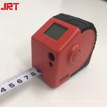 2 en 1 herramienta de cinta de medición láser digital regla escala flexible