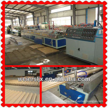 Germany quality wpc profile extruder machine plastic