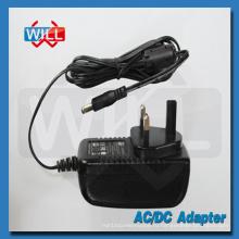 Настенный сетевой адаптер питания Великобритании UK 100 240 В переменного тока 50/60 Гц