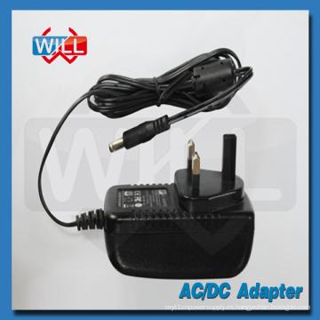 Montaje en pared BS UK adaptador de alimentación de entrada 100 240v ac 50 / 60hz