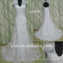 JJ2629 Real sample sweetheart beaded lace mermaid wedding dress