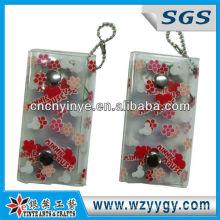 Niedliche Pvc Schlüssel Geldbeutel / Tasche mit Kugelkette