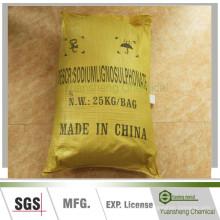 Угля водой навозной добавки-Лигносульфонат натрия-КАС: 8061-51-6