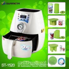 china supplier sunmeta newest product 3d mini sublimation vacuum machine