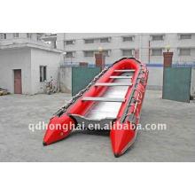 CE HH-S360 алюминиевая рыбацкая лодка используется