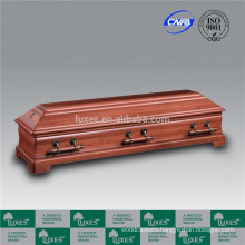 LUXES European Coffins Wooden Caskets For Funeral Wholesale