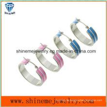 Shineme Schmucksache-Qualitäts-Edelstahl-Ohrring (ERS6992)