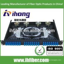 Panel de conexión de fibra óptica montado en rack fijo / mini ODF / caja de terminales