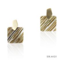 Korean Fashion Temperament Simple Geometric Marble pattern  Acrylic fashion Earrings 2020 Women Earrings