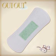 Sentez-vous des protège-slips en coton biologique respirant emballés individuellement